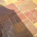 Hidden drain cover in Modak Sandstone